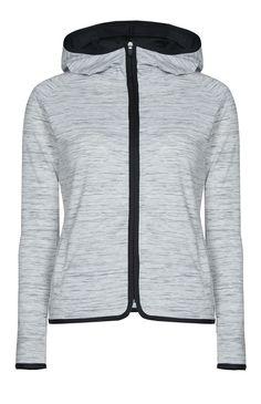 Primark - Sweat de sport gris teint par section