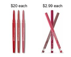 Try Rimmel London 1000 Kisses Lip Liner in place of Smashbox Always Sharp Lip Liner to save about $17. | 19 Incredible Drugstore Makeup Dupes That Will Change Your Life