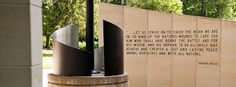As Memorial Day approaches, we remember the fallen. The Vietnam Veterans Memorial, located near All Faiths Chapel, bears the names of 42 Kansas State University students who died in the war or who are missing in action. Learn more about war memorials on the K-State campus.