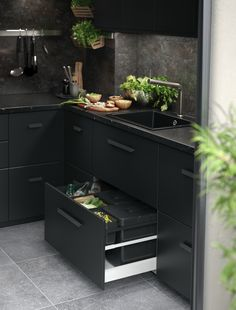 Wishlisted: Kungsbacka by Ikea (+ discover our current kitchen! New Kitchen Designs, Luxury Kitchen Design, Kitchen Room Design, Interior Design Kitchen, Kitchen Decor, Küchen Design, Home Design, Layout Design, Booth Design