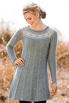 Dresses - Capture Fairisle Cable Tunic
