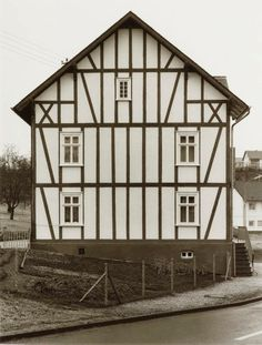 Bernd and Hilla Becher, German, partnership, 1959-2007, Framework House, 1959-1971 printed 2000