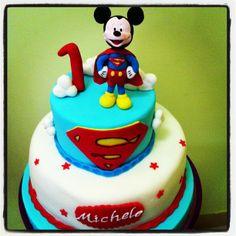 super mickey cake