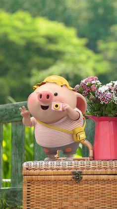 This Little Piggy, Little Pigs, Pig Wallpaper, Cute Piglets, 3d Art, Small Pigs, Pig Illustration, Funny Pigs, Mini Pigs