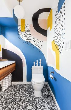 Luxury bathroom design and remodeling for apartments, houses, condos, ands luxury homes in Queens NY Bathroom Mural, Bathroom Interior, Wall Design, House Design, Bathroom Design Luxury, Mural Wall Art, Decoration Design, Room Decor, Wall Decor