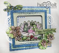 Heartfelt Creations | Happy Times Together Frogs