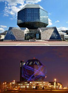The National Library Of Belarus, Minsk, Belarus