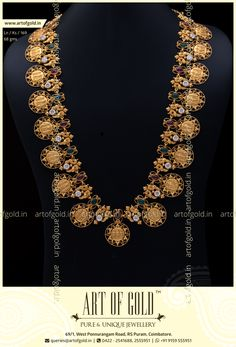 Light on weight, high on style, this classic Ram Parivar Kasu Haram is an ideal wear for any traditional gathering! Rope Jewelry, Wedding Jewelry, Beaded Jewelry, Quartz Jewelry, Gold Wedding, Jewelery, Custom Jewelry, Unique Jewelry, Jewelry Patterns