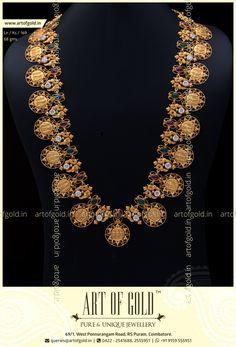 Ram Parivar Kasu Haram | Art of Gold Jewellery, Coimbatore