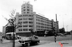 Philips Lichttoren hoek Emmasingel / Mathildelaan in 1965. fotonr 30670