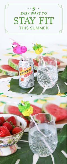 When the weather warms up, it can be the perfect time to start introducing fresh and healthy choices into your daily routine. Alongside Schweppes Sparkling Water, these 5 Easy Ways to Stay Fit This Summer can inspire you to plan meals in advance, take more walks, and choose healthier drink options! Find everything you need to introduce these tips into your summer schedule at ShopRite.