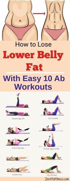 Lower Belly Pooch, Lose Lower Belly Fat, Burn Belly Fat, Fat To Fit, Losing Belly Fat Fast, Fitness Workouts, Mini Workouts, Fitness Hacks, Workout Kettlebell