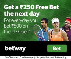 Get your exclusive welcome offer when you join Betway today. Experience pre-game and in-play sports betting markets, the latest casino games and more. Next Day, The Next, Betting Markets, Open S, Sports Betting, Casino Games, Book Making, No Response, Join