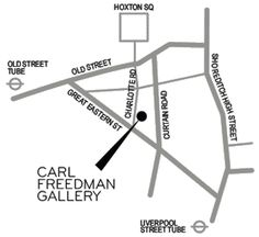 Contact Carl Freedman Gallery
