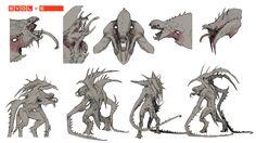 Kraken Revision 2 pg 1, Stephen Oakley on ArtStation at https://www.artstation.com/artwork/kraken-revision-2-pg-1