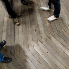 Urban Outfitters NY store. awesome flooring