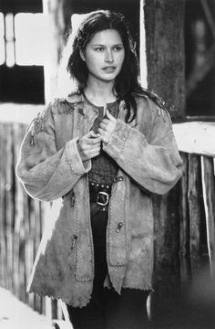 Karina Lombard b Tahiti - Swiss, Russian, Italian (father), Lakota Native American (mother) Brad Pitt, Karina Lombard, Leisha Hailey, Dances With Wolves, The L Word, Native American Beauty, Drama, Great Movies, Men Looks