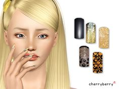 Emma's Simposium: 5 Fashion Sets by CherryBerrySim #128 - Donated/Gifted!!!