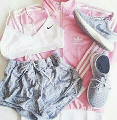 In the last 30 years, the evolution of fashion has been doing parallel with contemporary Lazy Outfits, Nike Outfits, Sport Outfits, Spring Outfits, Fashion Outfits, Workout Outfits, Women's Fashion, Sport Chic, Streetwear