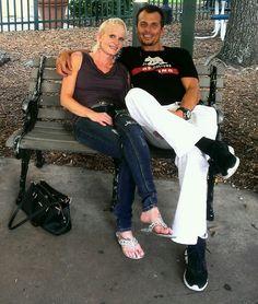 Vacationing with mybeautiful blonde bombshell in Orlando, Fl. 8.30.13