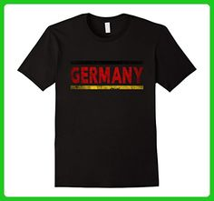 Mens Germany Retro Flag T-Shirt German Distressed Graphic 2XL Black - Retro shirts (*Amazon Partner-Link)