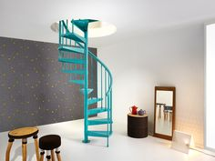 spiral staircase clip | Fontanot