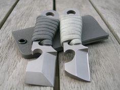 Neck knife tool