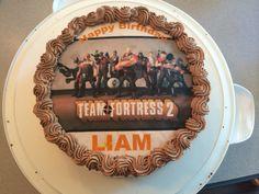 Team fortress 2 edible chocolate cake