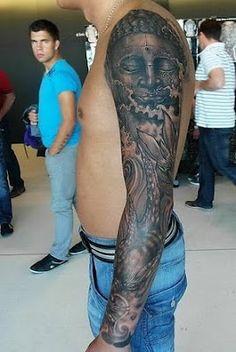 #Buddha #tattoo on the arm