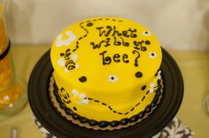 What will it bee??? cake