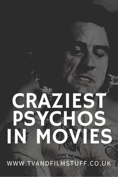 We all love a good villain, so without further ado – and in no particular order, here are 15 of the craziest, most unhinged and most dangerous screen psychopaths of all time! Romance Movies, Cult Movies, Netflix Movies, Sci Fi Movies, Comedy Movies, What To Watch Movies, Only Fools And Horses, Movie Talk, Best Villains