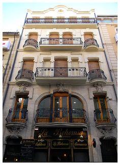 CASA EN C. SANT NICOLAU, 4. Arquitecto, Vicente Pascual Pastor, 1910.- Casas y más cosas: El Modernismo en Alcoi.