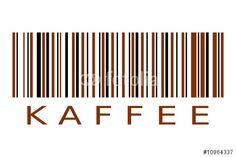 """NEU: Den lizenzfreien Vektor """"Barcode Kaffee"""" XXL herunterladen und damit z.B. das perfekte individuelle Poster gestalten. Stöbere in der Bilddatenbank https://de.fotolia.com/partner/200576682  und finde weitere TOP -  Stockbilder zur Umsetzung deiner Ideen."""
