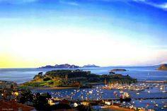 Baiona y las islas cies