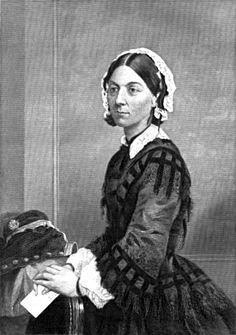 Florence Nightingale; developed the first organized program for nurses.