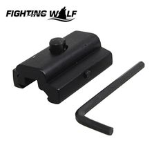 50mm Bipod Sling Swivel Stud to 30mm Adapter Picatinny Weaver Rails Mount For Outdoor Airsoft Military Paintball Rifle Gun