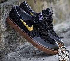 Nike SB Janoski Low Premium SE - Black / Metallic Gold
