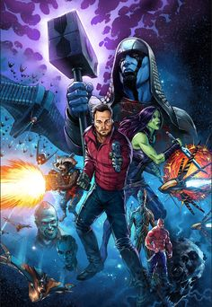 Guardians of the Galaxy by Mike S. Miller