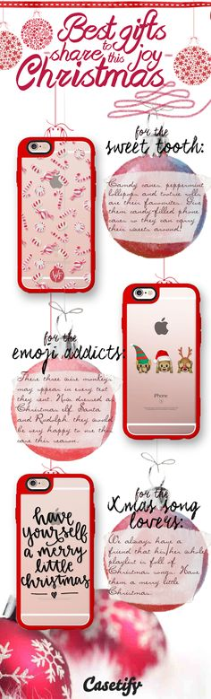 Here's some of the best designs to put you to Christmas Holiday mood. Shop these cases ($40) for yourself or as a gift here: http://www.casetify.com/artworks/Gap8qPbHZt