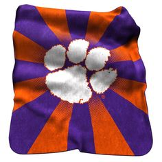 Clemson Tigers NCAA Raschel Throw