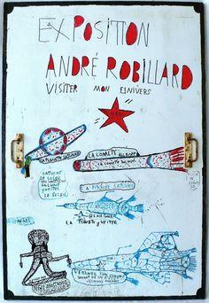 André Robillard exposition porte