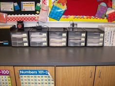 I am known for being extremely organized.  So I have decided to share some of my organizational ideas for the classroom: I store my l...
