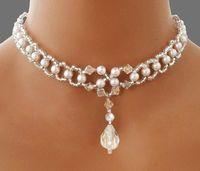 Abalorios: Como hacer un collar para novia con abalorios