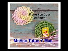 Como hacer FLORES DOBLANDO LISTON Paso a Paso FLOWERS FOLDING RIBBON Tutorial DIY How To PAP - YouTube