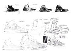 Tate Kuerbis' Air Jordan XXXI sketches