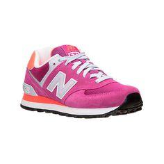 pink and orange new balance 574