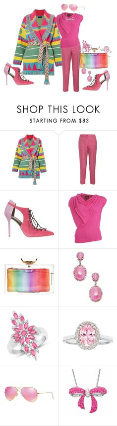 """She always lands on her feet"" by blujay1126 ❤ liked on Polyvore featuring Alanui, Etro, Malone Souliers, Vivienne Westwood Anglomania, Charlotte Olympia, Bavna, Malaika, Ray-Ban and Amanda Rose Collection"