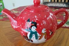 Home Accents Holiday Tea Pot in Collectibles | eBay