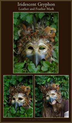 DeviantArt: More Artists Like Anubis II - Leather Mask by xothique