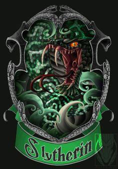 - Slytherin - by Autlaw.deviantart.com on @deviantART